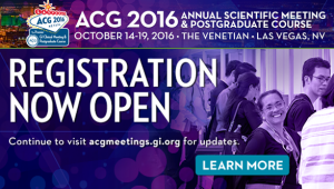 ACG2016 Registration Open August 2016