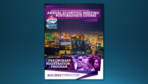 ACG 2016 Preliminary Program Cover