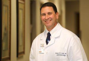 USA College of Medicine Professor, IM Gastroenterology Dr. Brooks Cash.