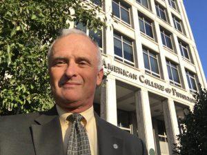 Dr. Kenneth DeVault in Philadelphia September 15, 2016