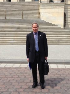 ACG Governor for Georgia, Douglas Wolf, MD FACG on Capitol Hill in April to meet with Dr. Price and the GA congressional delegation