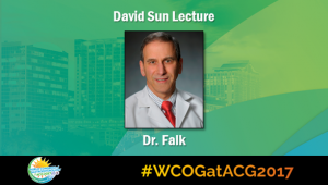Education Universe Video of the Week, WCOG at ACG2017 Featured Lectures: Gary W. Falk, MD, MS, FACG