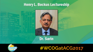 Education Universe Video of the Week, WCOG at ACG2017 Featured Lectures: Shiv Kumar Sarin, MD, DM