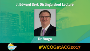 Education Universe Video of the Week, WCOG at ACG2017 Featured Lectures: John J. Vargo, II, MD, MPH, FACG