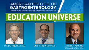 Education Universe Video of the Week, July 27: Michael F. Vaezi, MD, PhD, MSc (Epi), FACG